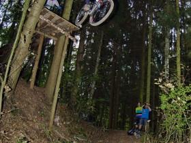 Downhill im Stadtwald