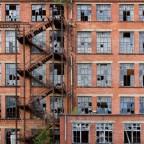 red bricks & broken windows