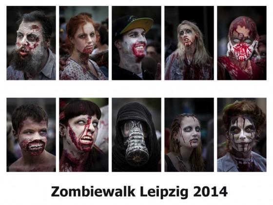 7. Zombiewalk Leipzig 2014