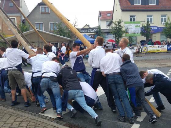 Maibaumsetzen 2017 in Bad Klosterlausnitz