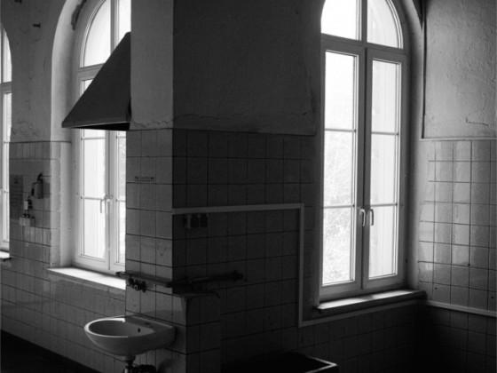 Küche im Bahnhof