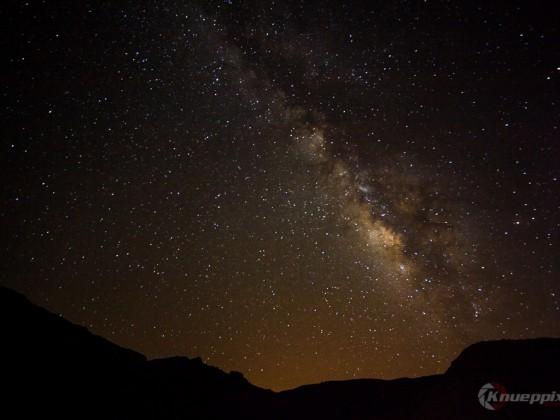 Milchstrasse 1 aufgenommen vom Teide Nationalpark, Teneriffa Juli 2014