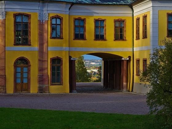 Blick auf Weimar .. vom Schloss Belevedere
