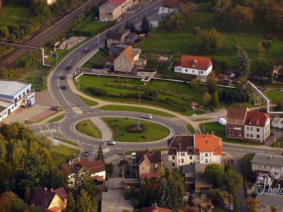 """Kreisverkehr Hartmannsdorf - """"das Silbitzer Ei"""""""