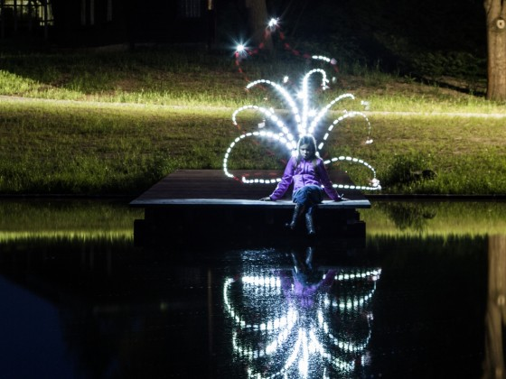 Lightpainting und Feuerkreisel