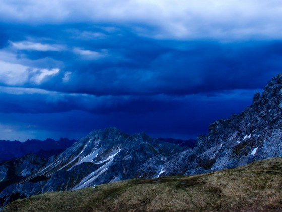Sturm zieht heran