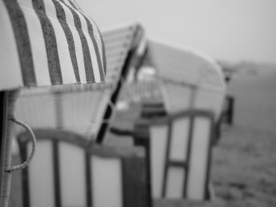 Trüber Strandtag