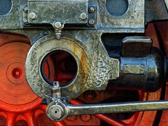 DR 52 8098-7 Hammerschlag Detail