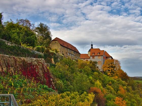 Dornburger Schlösse in der Nähe von Jena