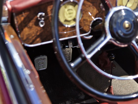 ein H für Kupplung und Bremse