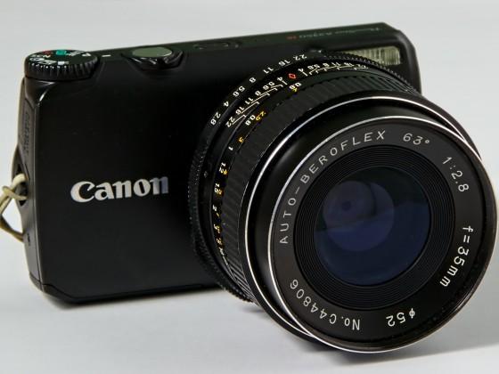 Hab mir mal eine neue Kamera zusammen geblitzt